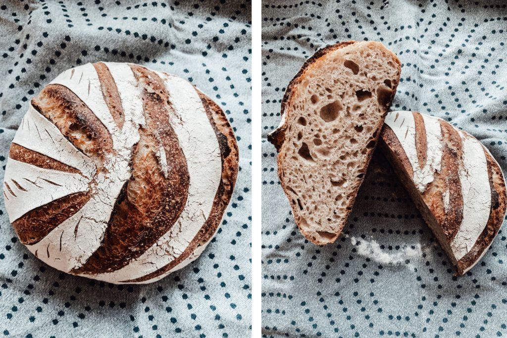 Lievito Mamma Alltagsbrot - Das einfachste Brot mit Lievito Madre