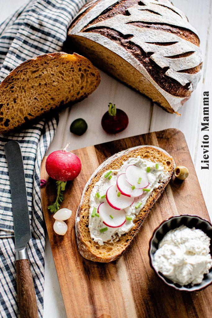 Ein Rezept für ein Sauerteigbrot mit Süßkartoffel mit Lievito Madre von Lievito Mamma