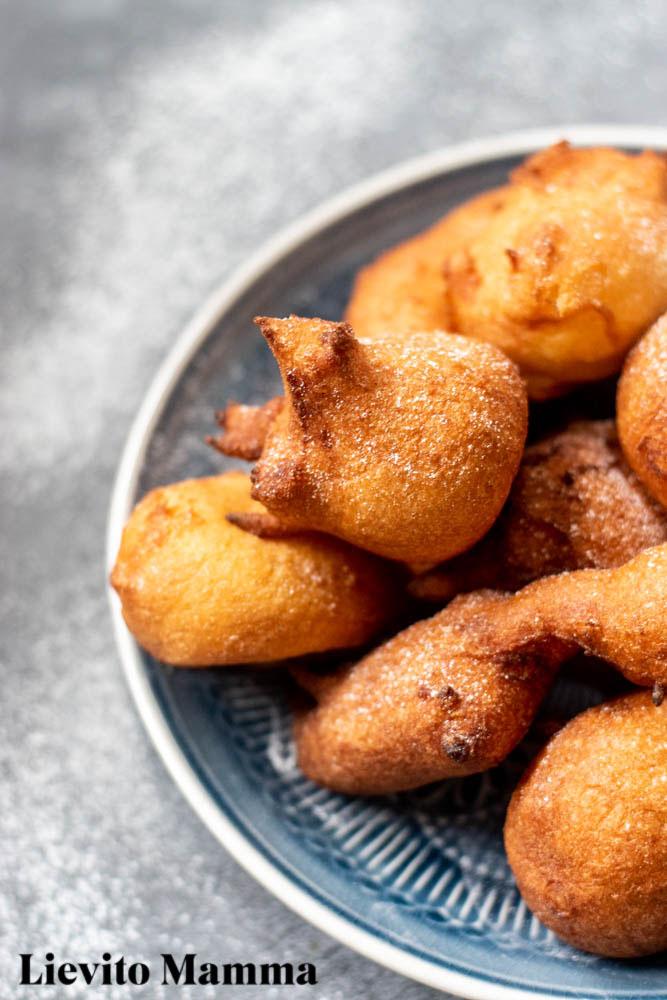 Frittierte Krapfen zur Faschingszeit - Ein Rezept von Lievito Mamma