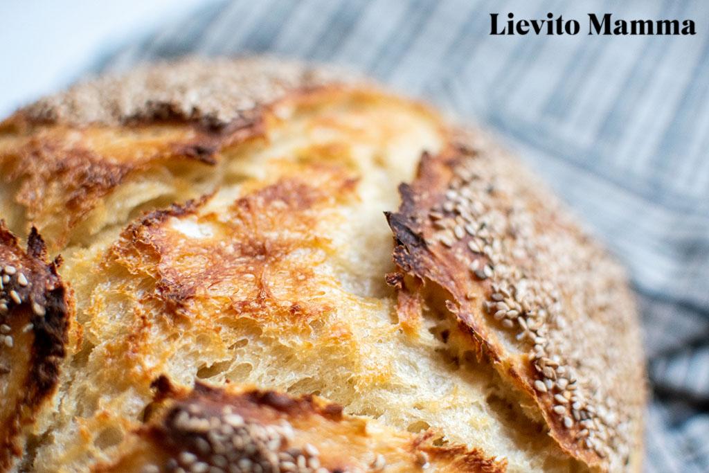 Pane di Semolina - Hartweizenlaib - Ein Rezept von Lievito Mamma