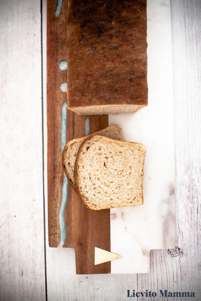 Sandwichbrot mit Lievito Madre