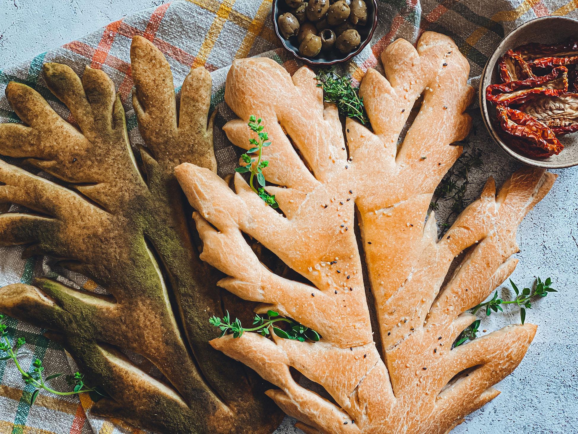 Fougasse mit Lievito Madre - Ein Rezept von Lievito Mamma