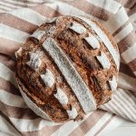 Dunkles Weizenbrot mit Ruchmehl und Lievito Madre - Ein Rezept von Lievito Mamma