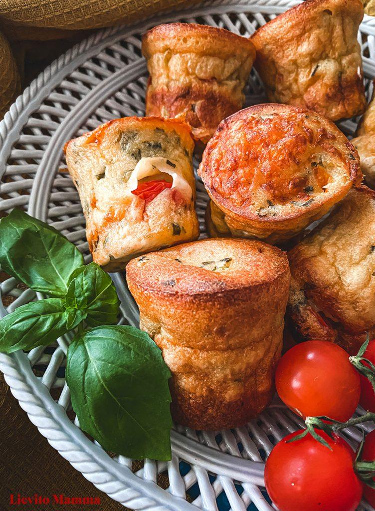 Die Popover mit Lievito Madre kann man beliebig füllen. Der ideale Snack für zwischendurch