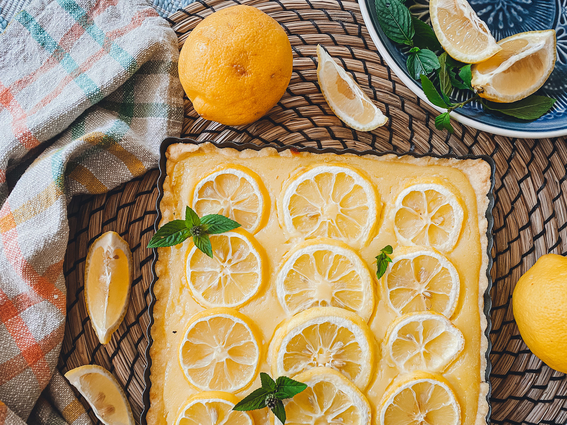 Lemon Curd Tarte mit Lievito Madre - Lievito Mamma Blog