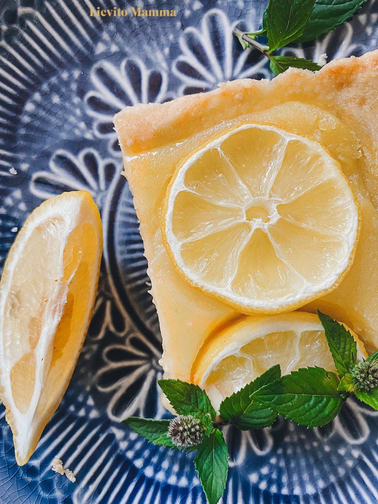 Rezept für Lemon Curd Tarte mit Lievito Madre - Lievito Mamma Blog
