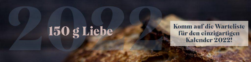 Komm auf die Warteliste für den Lievito Mamma Kalender 2022