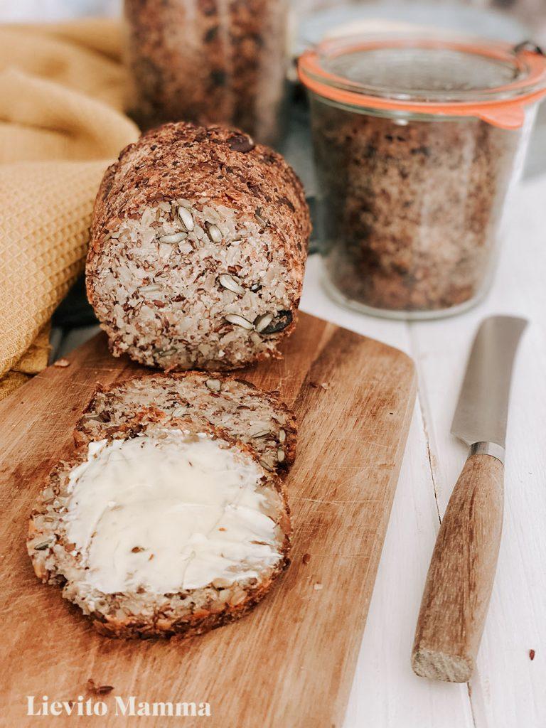 Brot ohne Mehl - Brot mit Lievito Madre im Weckglas - Ein Rezept von Lievito Mamma