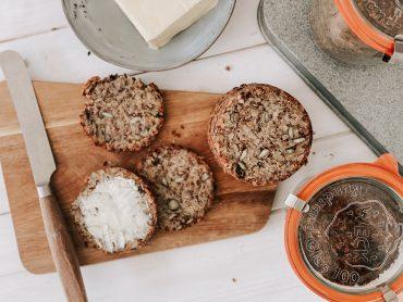 Brot ohne Mehl - Header Brot im Weckglas mit Lievito Madre