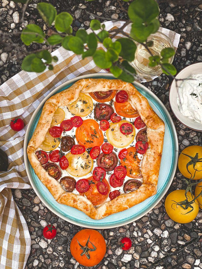 Das Rezept für Tomatentarte mit Lievito Madre von Lievito Mamma