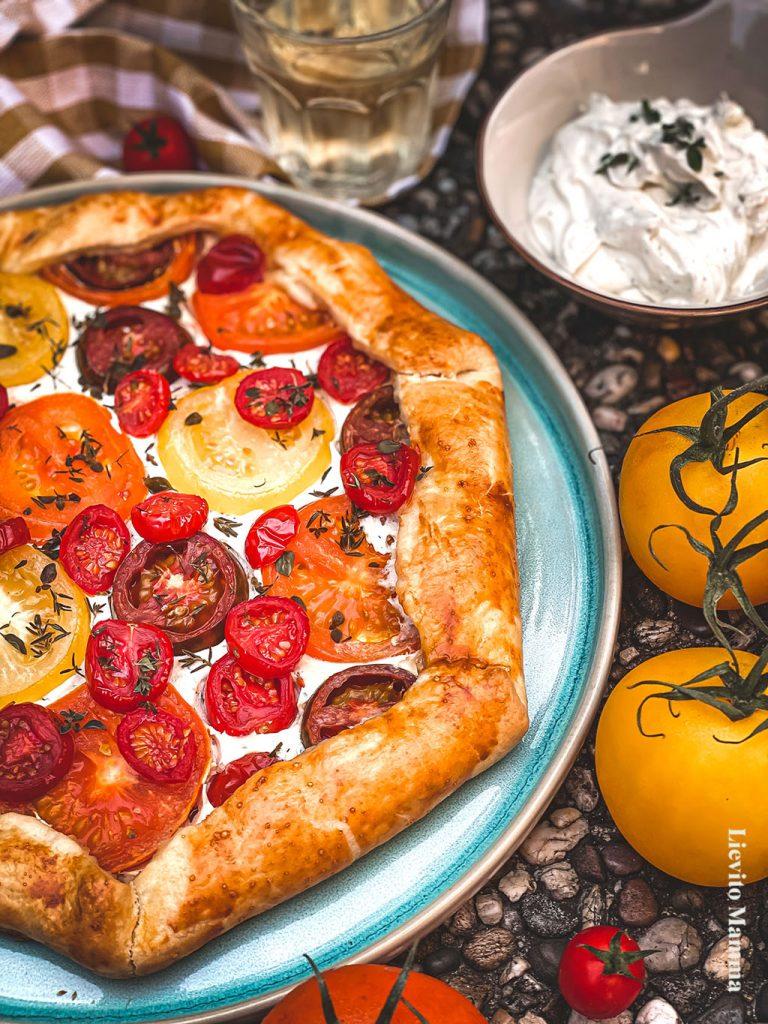 Rezept für Tomatentarte mit Lievito Madre von Lievito Mamma