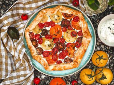 Tomatentarte mit Lievito Madre
