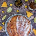 Chili Cheese Brot mit Jalapenos und Cheddar - Ein Rezept von Lievito Mamma